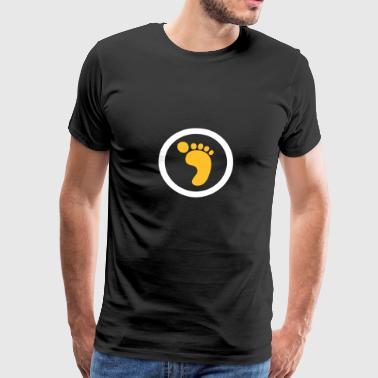 Ökologischer Fußabdruck - Männer Premium T-Shirt