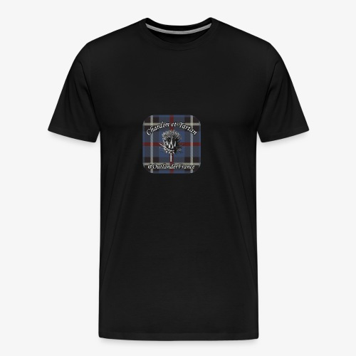 Chardon et Tartan vector logo high res - T-shirt Premium Homme