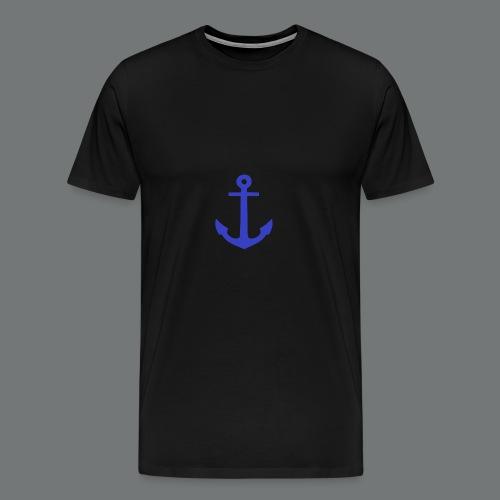ancre bleue - T-shirt Premium Homme
