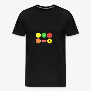 DIGITAL FRUITS - Digitale Hipster Früchte - Männer Premium T-Shirt
