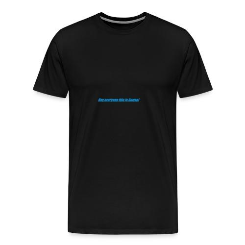 Rowan's intro!!1 - Men's Premium T-Shirt