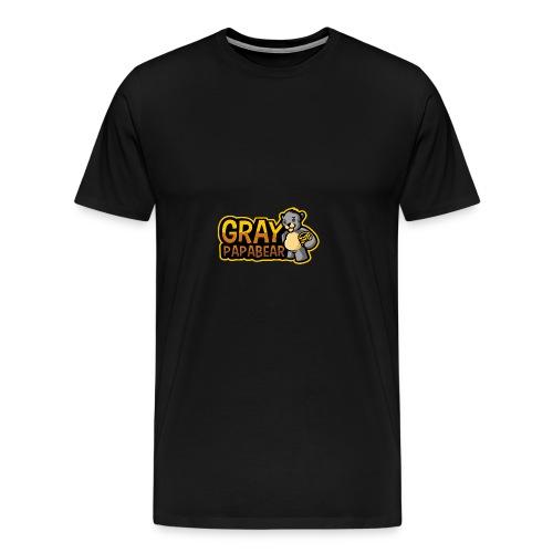 GrayPapaBear - Männer Premium T-Shirt