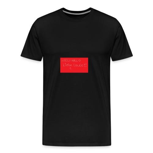 Erstes Merch xD - Männer Premium T-Shirt