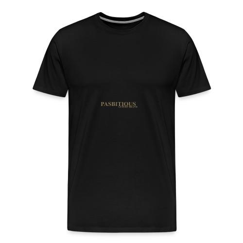 Pasbitious - Maglietta Premium da uomo