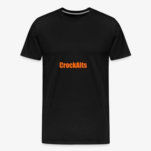 CrockAlts In Orange. - Men's Premium T-Shirt