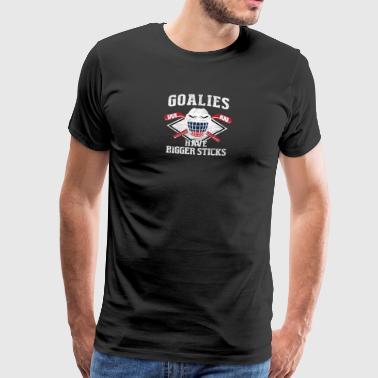Portero del hockey / ENCARGADO DE HOCKEY - Camiseta premium hombre