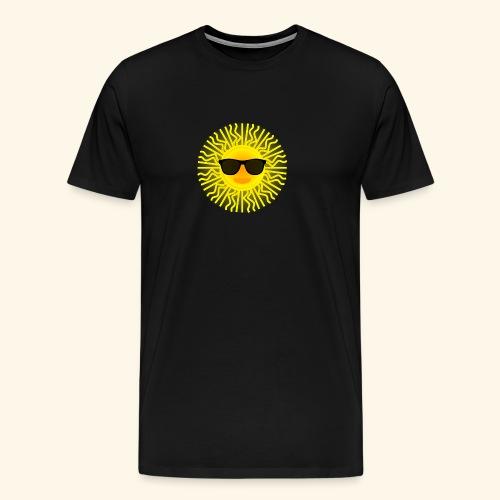 Sol de Canarias - Camiseta premium hombre