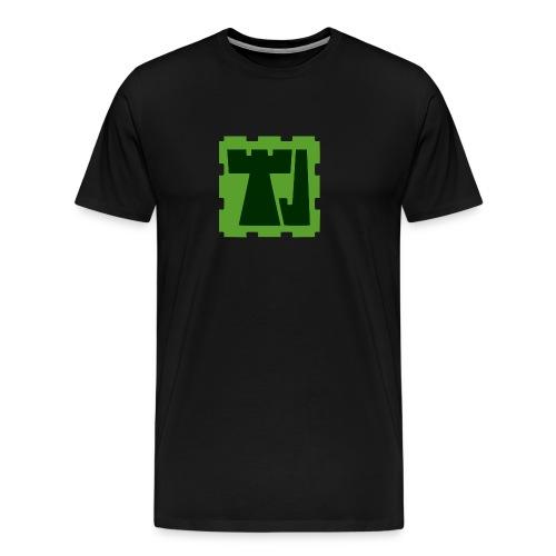 Tänään Jäljellä -logo - Miesten premium t-paita