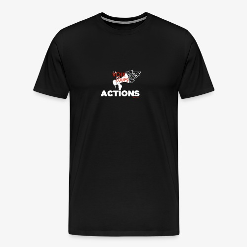 LVDL OFFICIEL - ACTIONS - T-shirt Premium Homme
