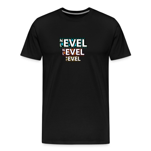 Nevel Level 3 colours - Men's Premium T-Shirt