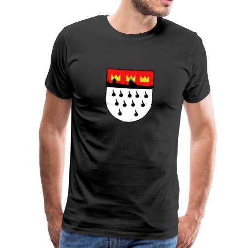 Köln Wappen - Used Look - Männer Premium T-Shirt