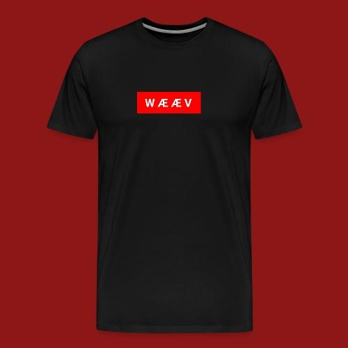 WÆÆV - Premium T-skjorte for menn