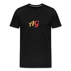 Gekleurde letters - Mannen Premium T-shirt