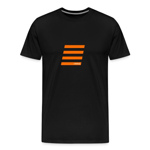 Orange Bars - Männer Premium T-Shirt