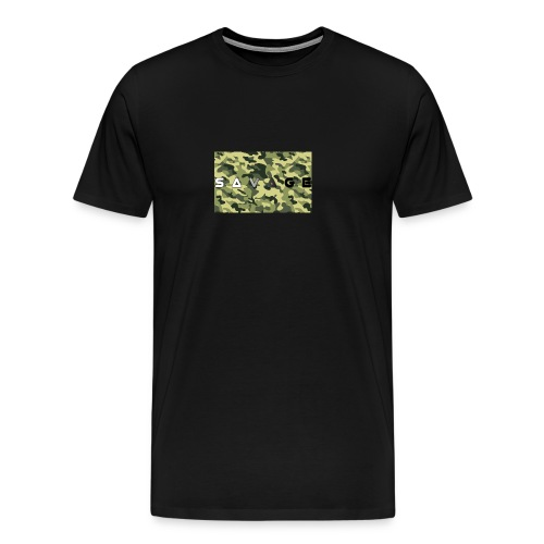 savage camo premium - Männer Premium T-Shirt