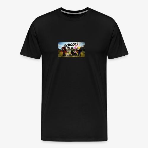School's out - Mannen Premium T-shirt