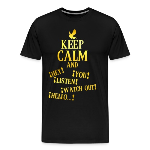 Keep Calm and Navi - Camiseta premium hombre
