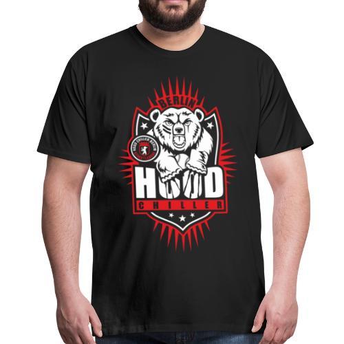 Baseball Bär Streetleague Hood Chiller Berlin - Männer Premium T-Shirt