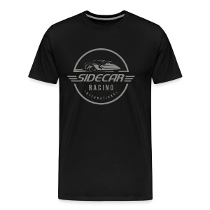 Sidecar Racing International logo clear bg 02 - Mannen Premium T-shirt