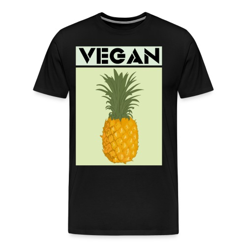 VEGAN PINEAPPLE - Men's Premium T-Shirt