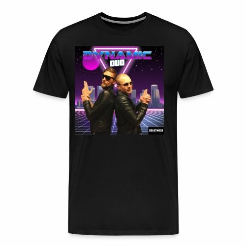 RETRO BEAST MOOD - Premium-T-shirt herr