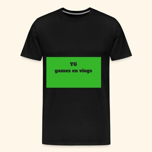 YGgames en vlogs - Mannen Premium T-shirt