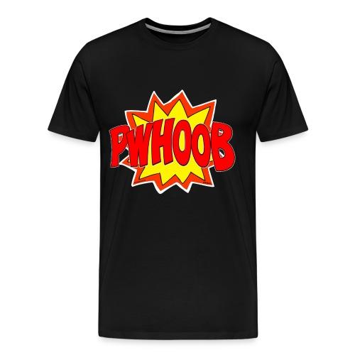 Phwoob White OutLine - Men's Premium T-Shirt