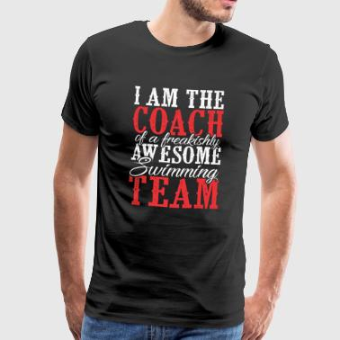 JAG ÄR tränare för A freakishly AWESOME UTOMHUS TE - Premium-T-shirt herr