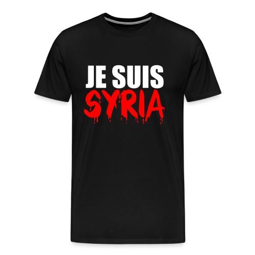 Je Suis Syria - Männer Premium T-Shirt