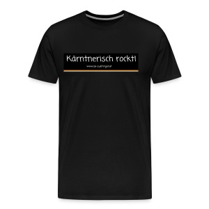 Kärntnerisch rockt - Männer Premium T-Shirt