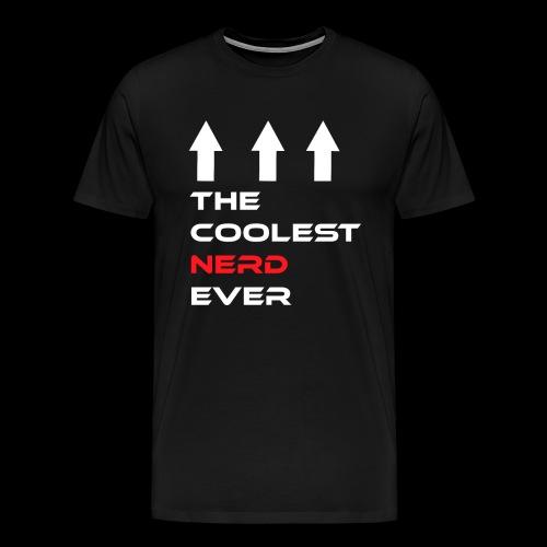 The coolest Nerd ever - Männer Premium T-Shirt