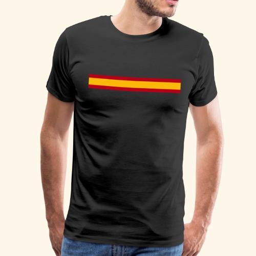 BANDERA ESP - Camiseta premium hombre