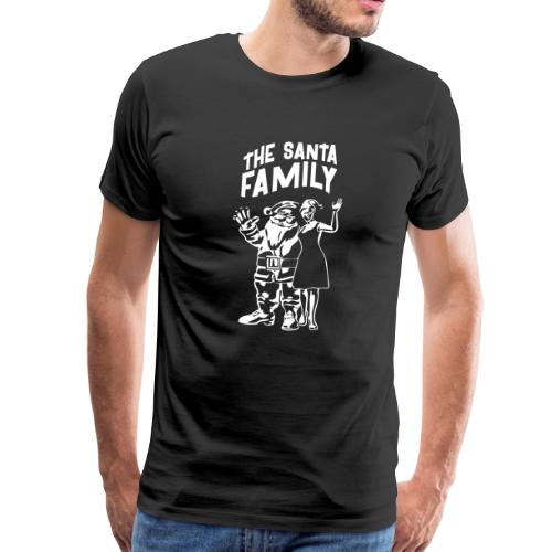 The Santa Family - Weihnachtsmann T-Shirts - Comic - Männer Premium T-Shirt