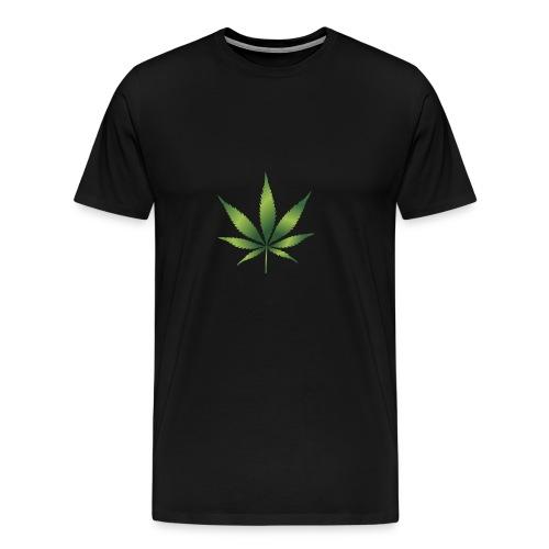 cannabisshirt - Männer Premium T-Shirt