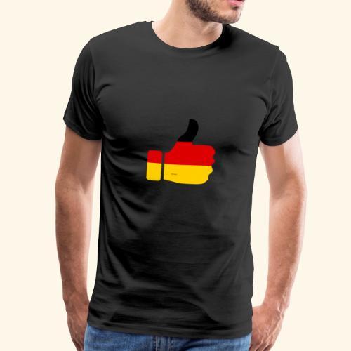 Deutschland Daumen nach oben! - Männer Premium T-Shirt