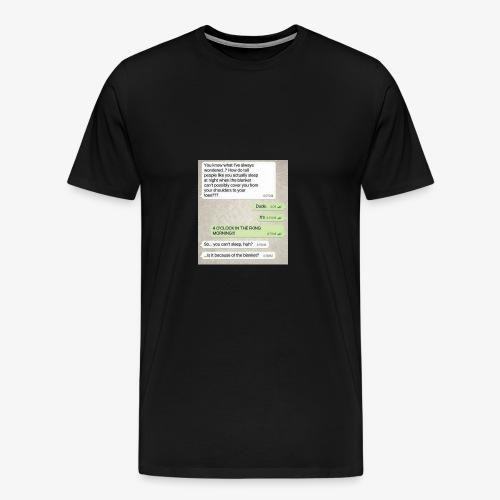 Humor - Premium T-skjorte for menn