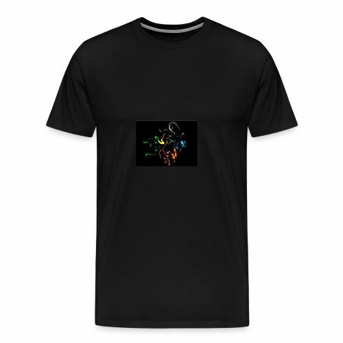 Multi color splash - Men's Premium T-Shirt