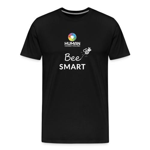 bee smart weiss - Männer Premium T-Shirt