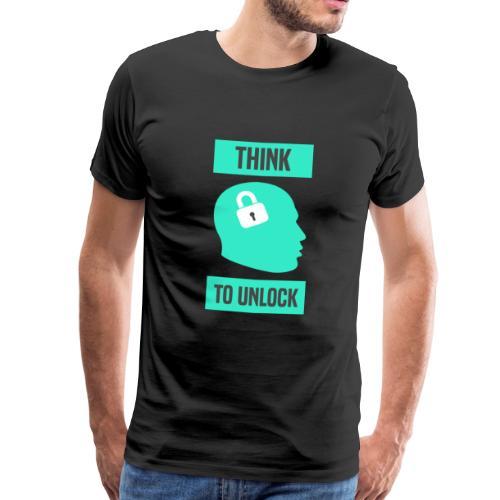 Think To Unlock - Maglietta Premium da uomo
