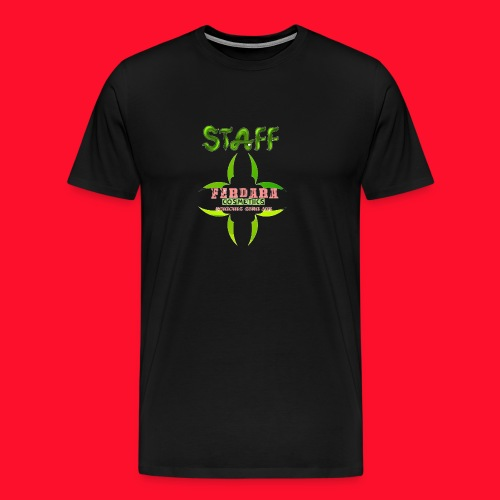 logo_de_ferdara_cosmetics_veracruz_zona_sur. - Camiseta premium hombre