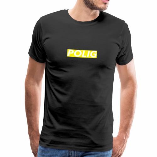 Polig-BoxLogo - Männer Premium T-Shirt