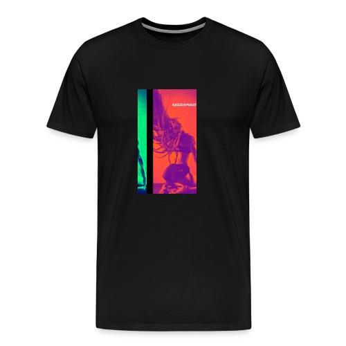 womancontest Razziamaus True Color double flash - Männer Premium T-Shirt