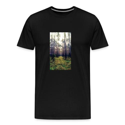 Las we mgle - Koszulka męska Premium