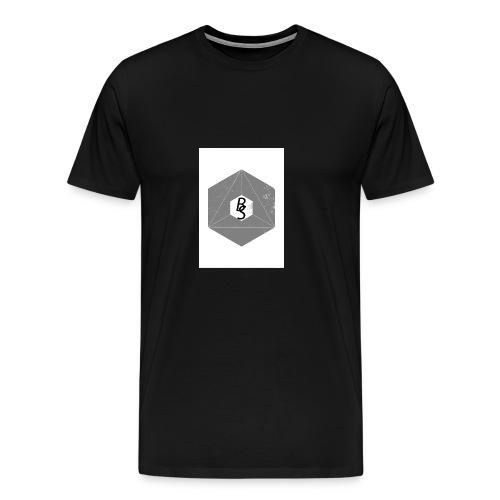 best logo - Premium T-skjorte for menn