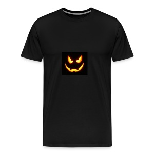 Pumkin scary - Männer Premium T-Shirt