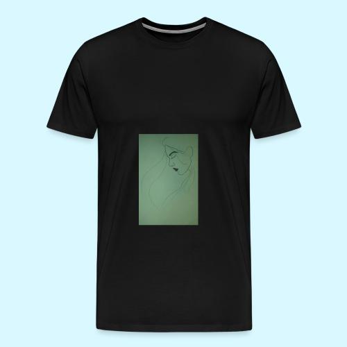 side profile - Men's Premium T-Shirt