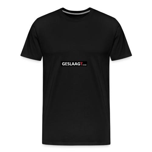 geslaagt01 - Mannen Premium T-shirt