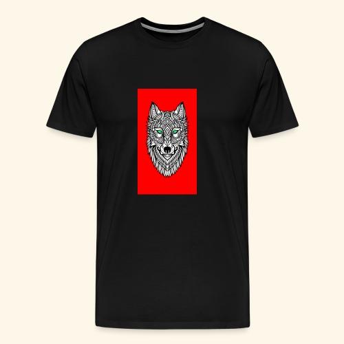 wolf2 - Männer Premium T-Shirt