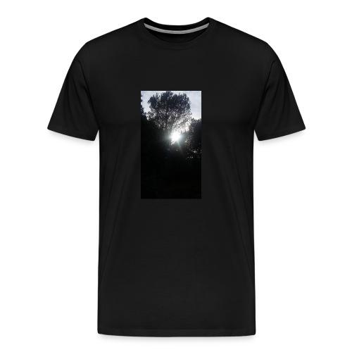 Alberi al tramonto - Maglietta Premium da uomo