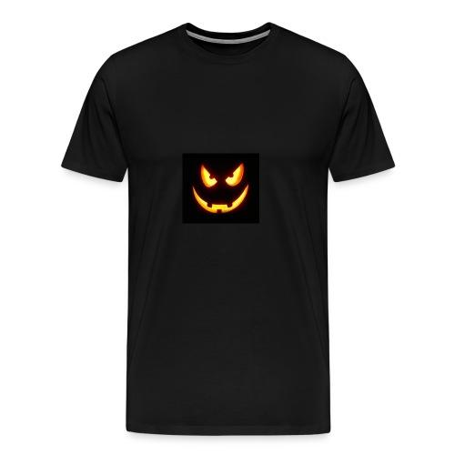 Pumpkin scary - Männer Premium T-Shirt